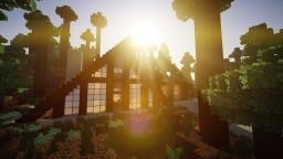 Warm Autumn A-Frame (Modern/A-Frame House) Minecraft Project
