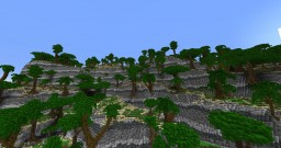 tropical coast Minecraft Project