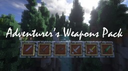 Adventurer's Weapons Pack Minecraft Texture Pack