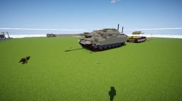 E-100 Jagdpanzer Krokodil Minecraft Project