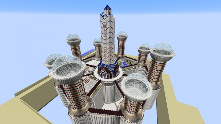 Quartz City (Beyond The Far Lands) Minecraft Project