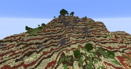 tropical mesa forest Minecraft Project