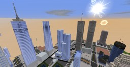 Current World Trade Center 527:230 Scale Minecraft Map & Project