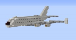 [1:3] Mini Airbus A380 [+Download] Minecraft Project