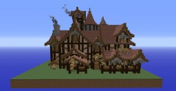 The Howling Wolf Inn Minecraft Project