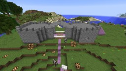 EPIC castle Minecraft Map & Project