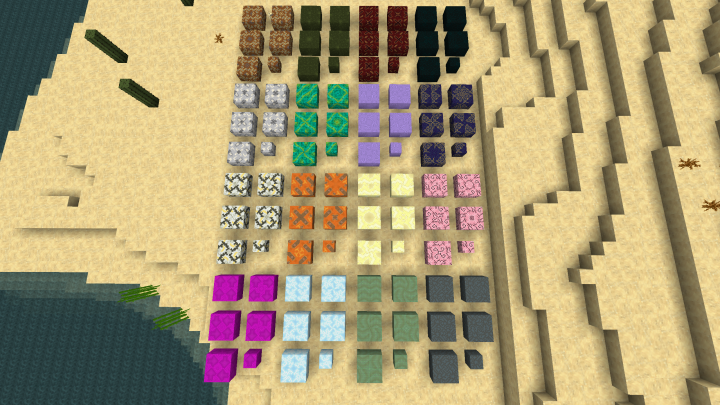 Glazed Terracotta! Each with many different unique combinations!