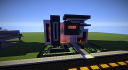 Modern Home Designs Minecraft Map & Project