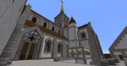 Mont Saint Michel Abbey Minecraft