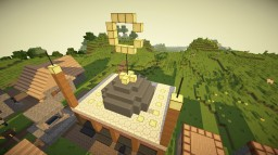 Simple Mosque In A Village Minecraft Project