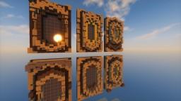 [Download] 6 Big Fantasy Window Designs! Minecraft Map & Project