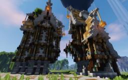 Grosse Map SteamPunK en Construction Minecraft Project