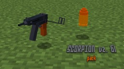 SCORPION vz. 61 pack (cze) 1.12 +1.13 Minecraft