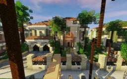 Mediterranean Mansion - Greenfield Minecraft Map & Project