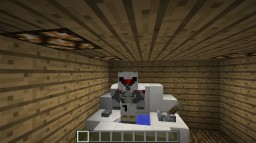 Redstone Working Toilet Minecraft Project