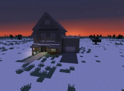Winter Suburban House Minecraft Map & Project