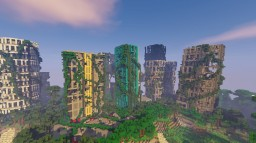 POST APOCALYPTIC CITY Minecraft Map & Project