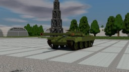 T 90 or my own tank Minecraft Map & Project