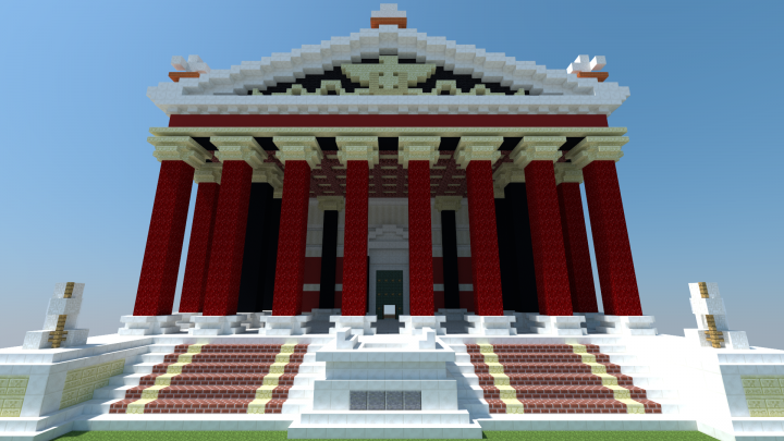 Ac Origins Colorful Roman Temple Minecraft Project