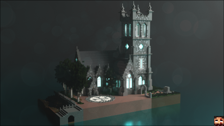 Neo Gothic Irish Church