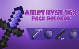 Amethyst 16x SHORT SWORD [FPS] Pvp Pack Release! [PotPvp, Skywars, Bedwars, More!] Minecraft Texture Pack