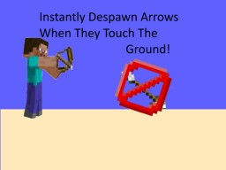 How To Kill Arrows In The Ground [1.12 Minecraft] Minecraft
