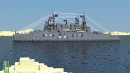 Brynhildr-class battleship Minecraft Project