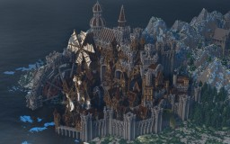Conderial - Steampunk City Minecraft Map & Project