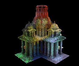 Colorful baroque Minecraft