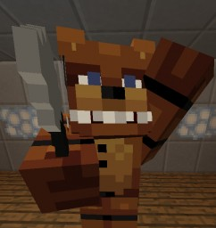 Five Nights At Freddy's 1 Pack Minecraft Texture Pack