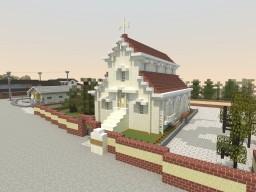 Kibamachi Church, Kibamachi, Toyama, Japan Minecraft Map & Project