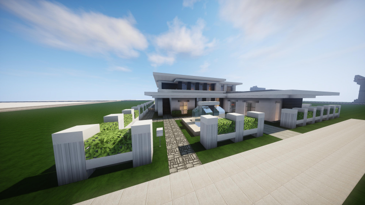 2 Bedroom Modern Mansion Minecraft Project