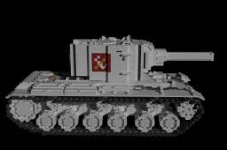 10:1 scale KV-2 tank (ver Цвета школы  color) Minecraft Project