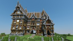 Fully Functional Medieval Vineyard [Redstone] [Full Interior] Minecraft