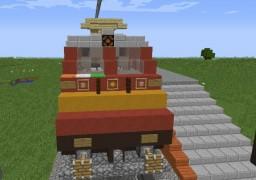 Indian Railways Locomotive: WAP-4 Electric locomotive Minecraft Project
