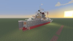 DKM Z1 Leberecht Maass Destroyer bathtub build Minecraft Project