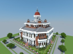Hazlehurst Mansion - PMC Contest Entry Minecraft Map & Project
