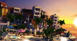 Paraíso Playa Minecraft Map & Project