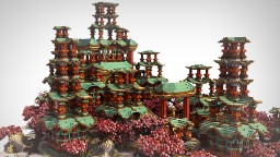 JAPAN Map - Network Hub Minecraft Project