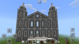 Simple Cathedral Minecraft Project