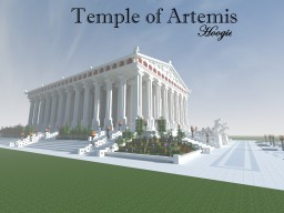 Temple of Artemis Minecraft Project