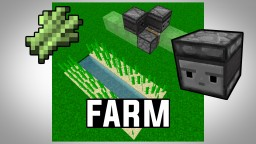 (1.11+) Best Sugarcane Farm Minecraft Map & Project