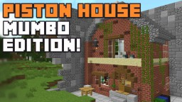 The Mumbo Jumbo's MEGA PISTON HOUSE! Minecraft Blog Post