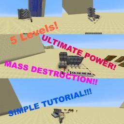 Minecraft Cannon Tutorial! Minecraft Project