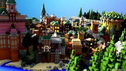 Beccasa - Colourful City Minecraft Map & Project