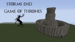 (GoT) Storm's End ASOIAF Medieval Castle %70 (DOWNLOAD) Minecraft Map & Project