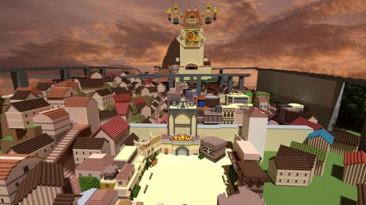 Twilight Town render by Ventusjs