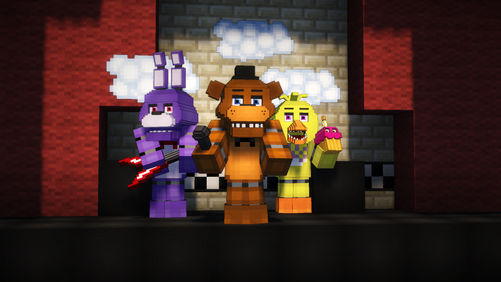 Five Night's at Freddy's Pack [3D] (From Mine Nights at
