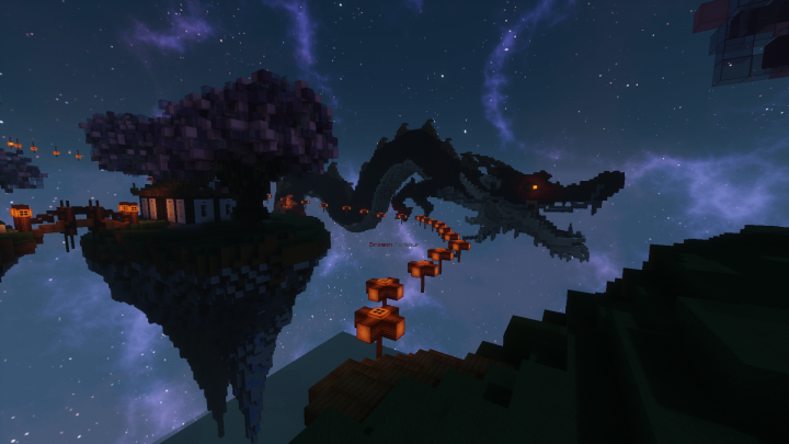 Spawn Warp House and Parkour Night