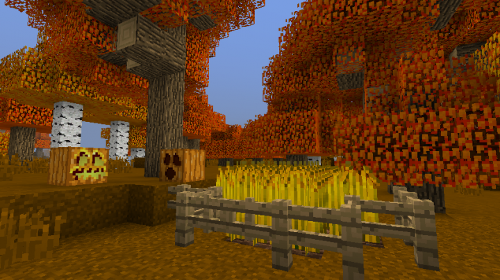 Image Result For Minecraft Autumn Build